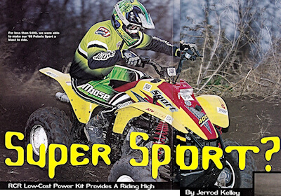 Read more about the article ATV Sport Tests Ritter Cycle's Pipe Kit