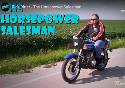 Rick Ritter The Horsepower Salesman Video